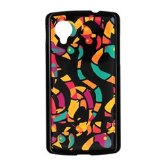 Colorful snakes Nexus 5 Case (Black)