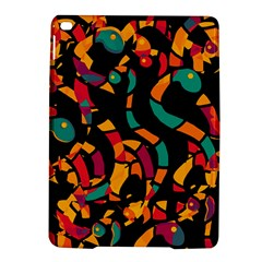 Colorful snakes iPad Air 2 Hardshell Cases