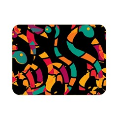 Colorful snakes Double Sided Flano Blanket (Mini)