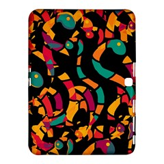 Colorful snakes Samsung Galaxy Tab 4 (10.1 ) Hardshell Case