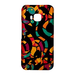 Colorful snakes HTC One M9 Hardshell Case