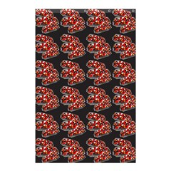 Hsp On Black Shower Curtain 48  X 72  (small)