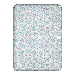 Intricate Floral Collage  Samsung Galaxy Tab 4 (10.1 ) Hardshell Case