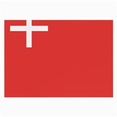 Flag Of Canton Of Schwyz Large Glasses Cloth