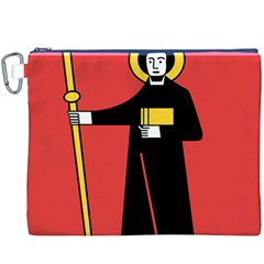 Flag of Canton of Glarus Canvas Cosmetic Bag (XXXL)