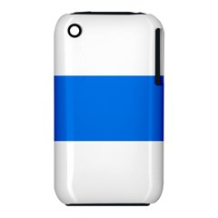 Flag Of Canton Of Zug Apple Iphone 3g/3gs Hardshell Case (pc+silicone)