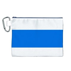 Flag of Canton of Zug Canvas Cosmetic Bag (L)