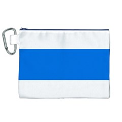 Flag of Canton of Zug Canvas Cosmetic Bag (XL)