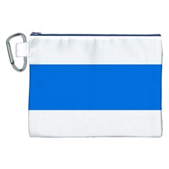 Flag of Canton of Zug Canvas Cosmetic Bag (XXL)