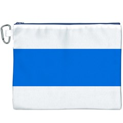 Flag of Canton of Zug Canvas Cosmetic Bag (XXXL)