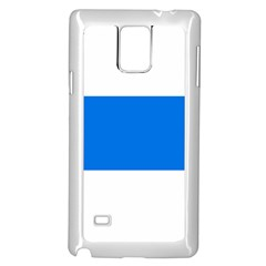 Flag Of Canton Of Zug Samsung Galaxy Note 4 Case (white)