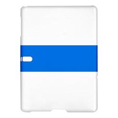 Flag of Canton of Zug Samsung Galaxy Tab S (10.5 ) Hardshell Case