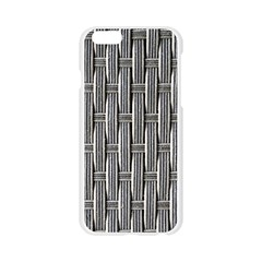 Woven Cords Weave Pattern Texture Textie Apple Seamless iPhone 6/6S Case (Transparent)