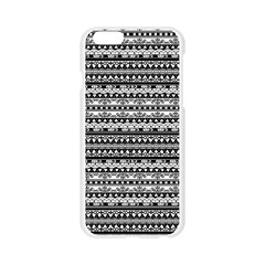 Zentangle Lines Pattern Apple Seamless iPhone 6/6S Case (Transparent)