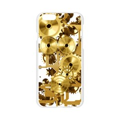 Mechanical Steampunk Apple Seamless iPhone 6/6S Case (Transparent)