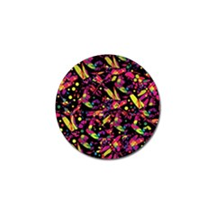 Colorful dragonflies design Golf Ball Marker (4 pack)