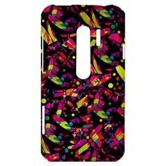 Colorful dragonflies design HTC Evo 3D Hardshell Case