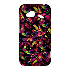 Colorful dragonflies design HTC Droid Incredible 4G LTE Hardshell Case