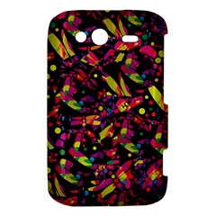 Colorful dragonflies design HTC Wildfire S A510e Hardshell Case