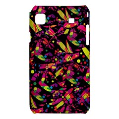 Colorful dragonflies design Samsung Galaxy S i9008 Hardshell Case