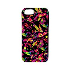 Colorful dragonflies design Apple iPhone 5 Classic Hardshell Case (PC+Silicone)