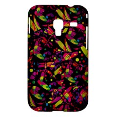 Colorful dragonflies design Samsung Galaxy Ace Plus S7500 Hardshell Case
