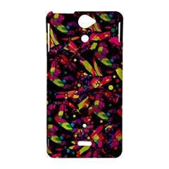 Colorful dragonflies design Sony Xperia V