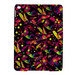Colorful dragonflies design iPad Air 2 Hardshell Cases