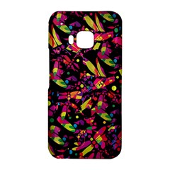 Colorful dragonflies design HTC One M9 Hardshell Case