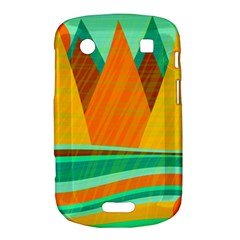 Orange and green landscape Bold Touch 9900 9930
