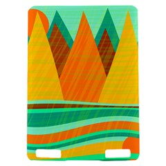 Orange and green landscape Kindle Touch 3G