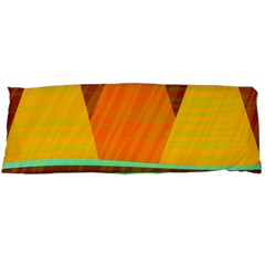 Orange and green landscape Body Pillow Case Dakimakura (Two Sides)