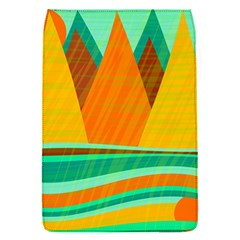 Orange and green landscape Flap Covers (S)