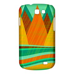 Orange and green landscape Samsung Galaxy Express I8730 Hardshell Case