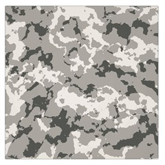Winter Camouflage Large Satin Scarf (square)