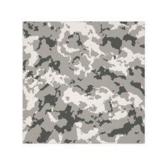 WINTER CAMOUFLAGE Small Satin Scarf (Square)