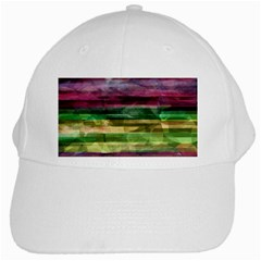Colorful marble White Cap