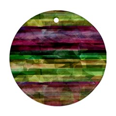 Colorful marble Ornament (Round)