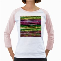 Colorful marble Girly Raglans