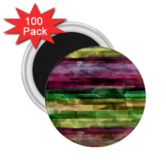 Colorful marble 2.25  Magnets (100 pack)