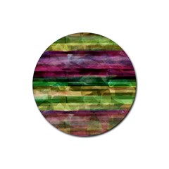 Colorful marble Rubber Coaster (Round)