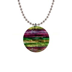 Colorful marble Button Necklaces