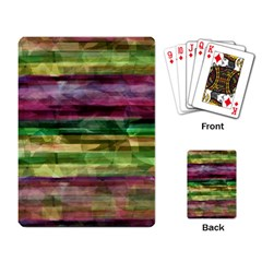 Colorful marble Playing Card