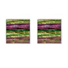 Colorful marble Cufflinks (Square)