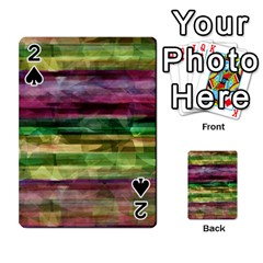 Colorful marble Playing Cards 54 Designs