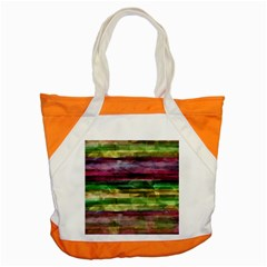 Colorful marble Accent Tote Bag