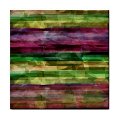 Colorful marble Face Towel