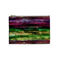 Colorful marble Cosmetic Bag (Medium)