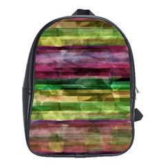 Colorful marble School Bags(Large)
