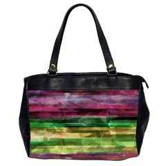 Colorful marble Office Handbags (2 Sides)